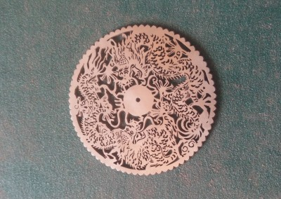 Laser cut Chinese design