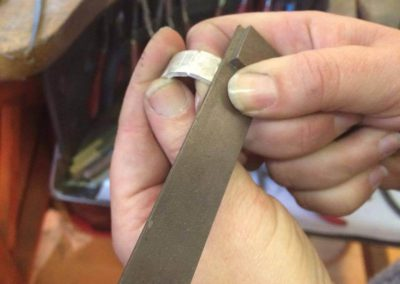 Making the correct size ring