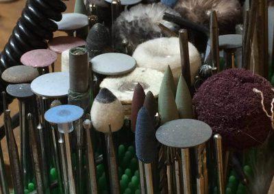 Polishing jewellery tools