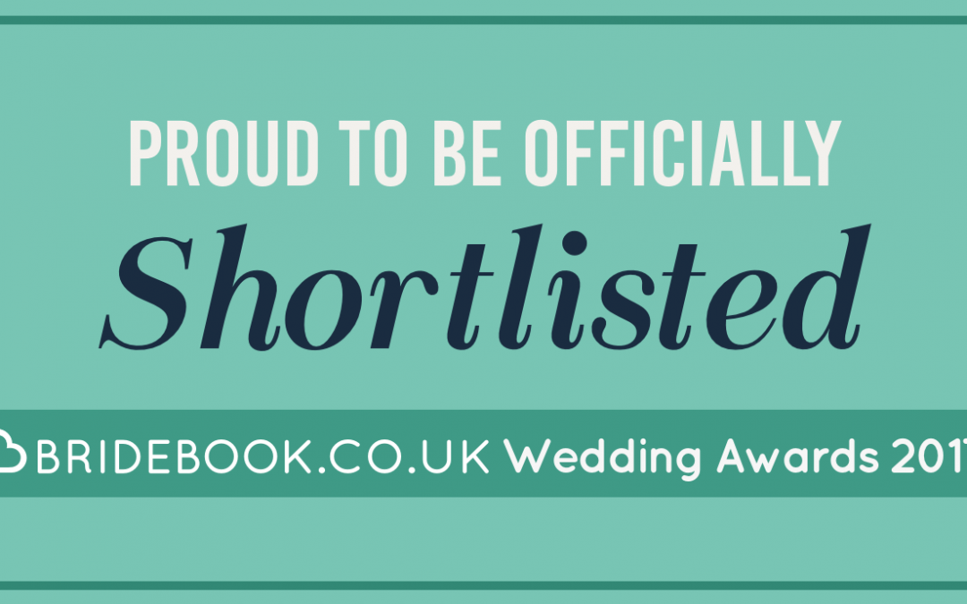 I Have Been Shortlisted For The Bridebook.co.uk Wedding Awards 2017