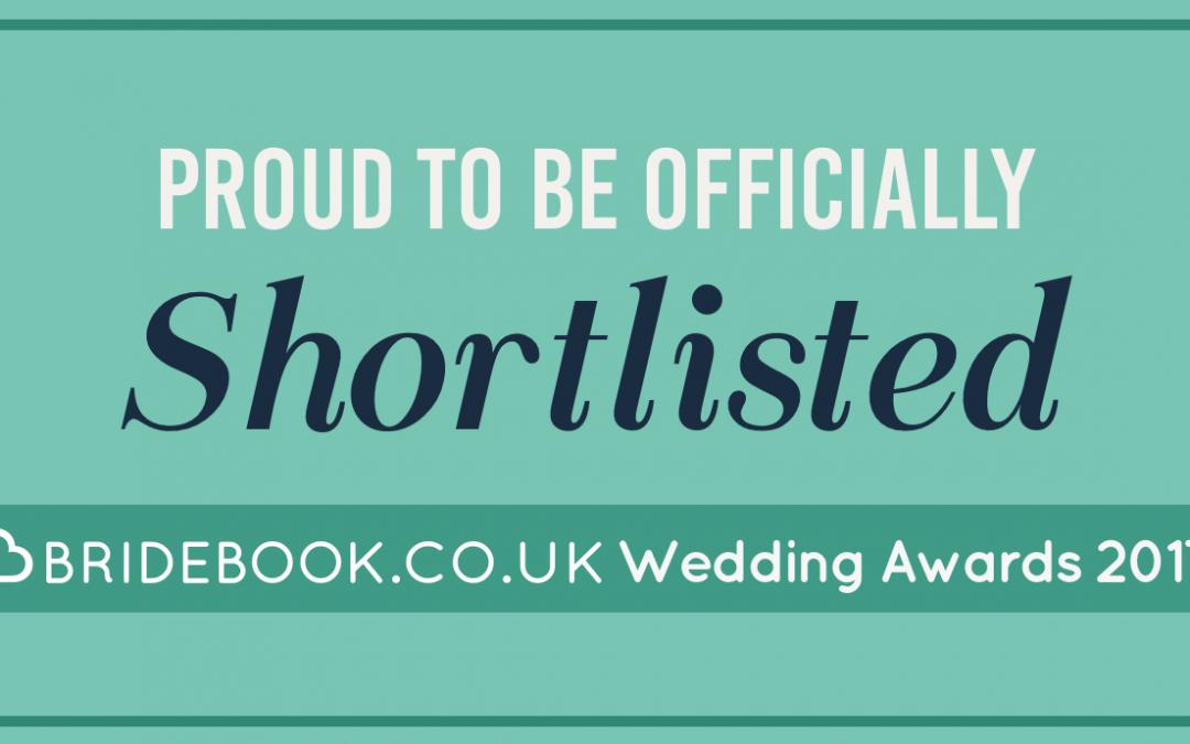 I Have Been Shortlisted For The Bridebook.co.uk Wedding Awards 2017