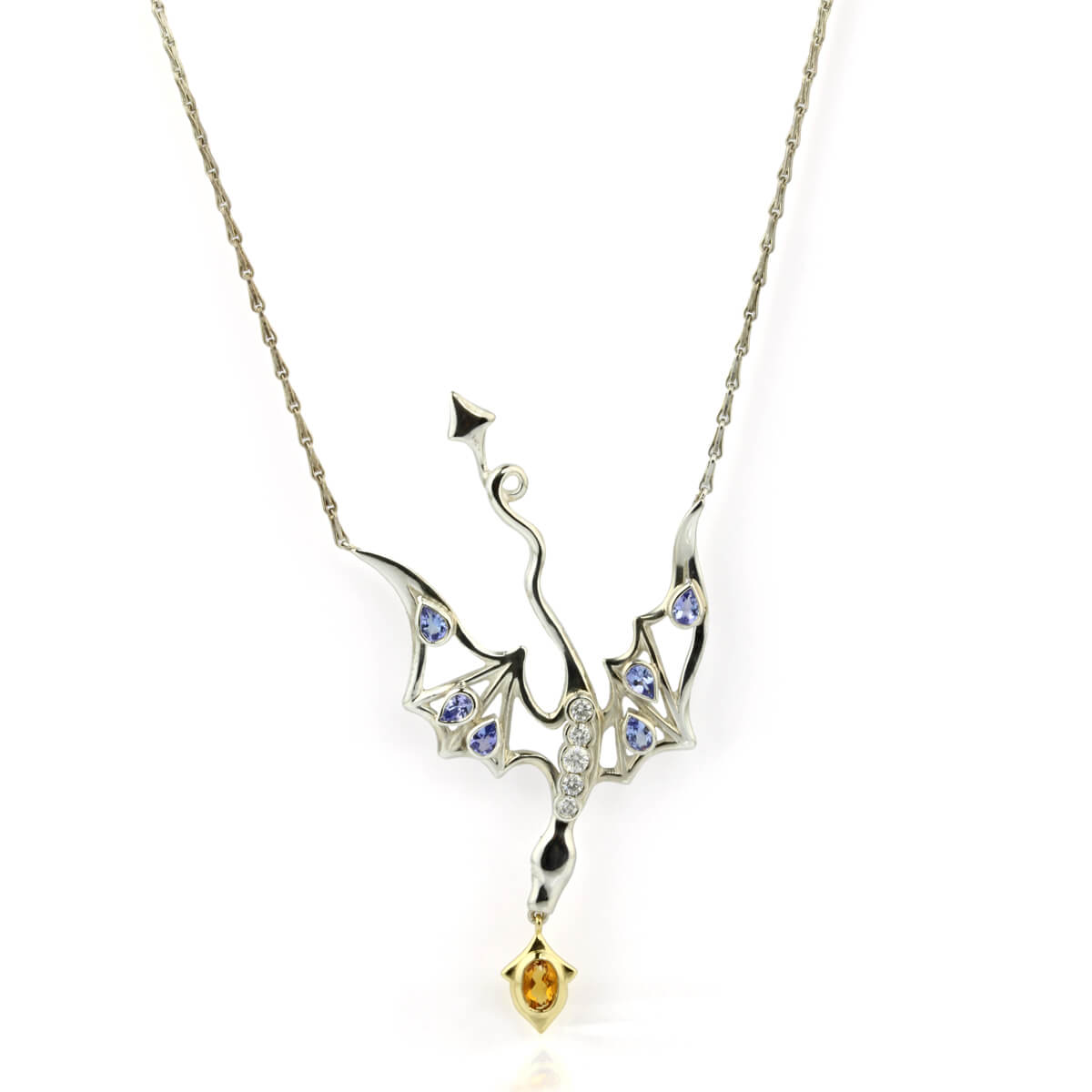 silver and gold dragon pendant 21 copy