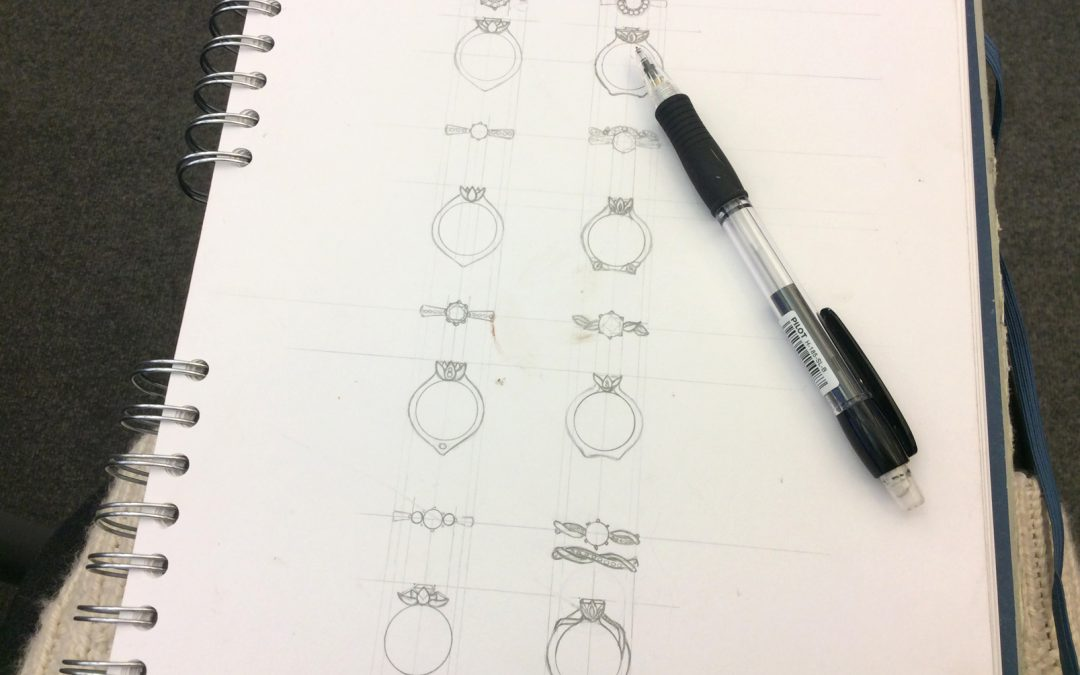 Speaking of engagements…I get to design my own ring