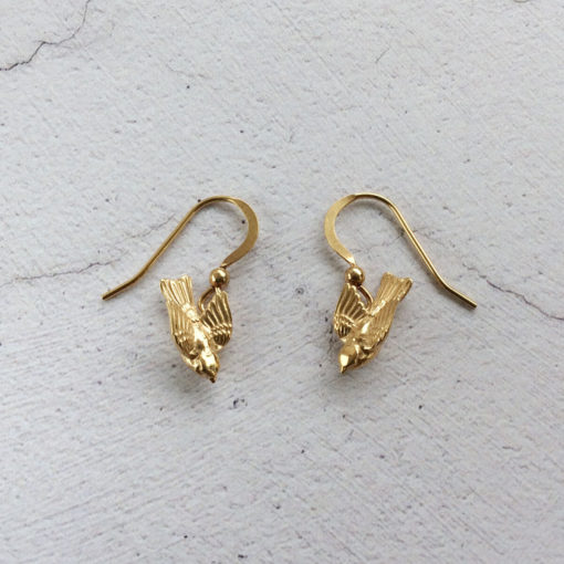 Gold-plated-Silver-Bird-Drop-Earrings-Aimee-Winstone