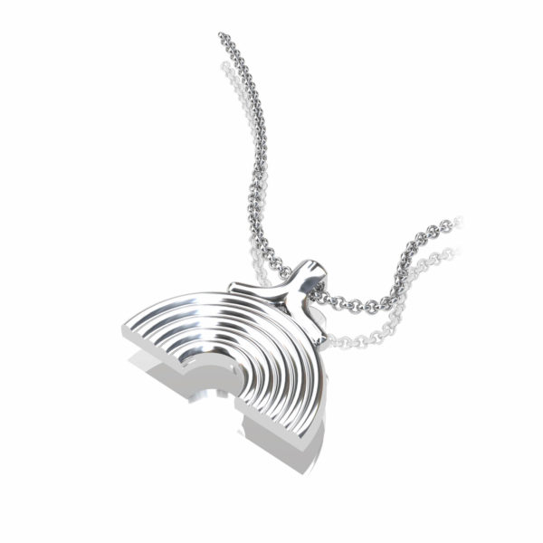 Silver Rainbow Pendant Raising Money For Covid 19