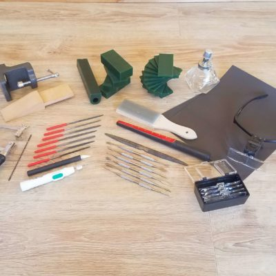 Complete wax carving toolkit Aimee Winstone